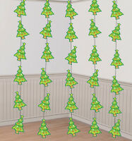 Christmas Decorations Christmas Trees Strings pack of 6 - total 42 feet