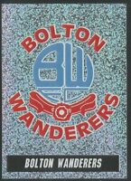 PANINI 1997 - NATIONWIDE LEAGUE #029 - BOLTON WANDERERS - FOIL TEAM BADGE