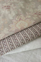 Antique Vintage French fabrics materials  ~Project Bundle ~ seat cover ~  faded