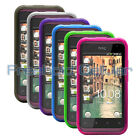 6x Flex-Gel Protective Skins Covers Shells Cases for HTC Rhyme