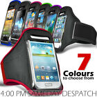 SPORTS ARMBAND STRAP POUCH CASE COVER FOR VARIOUS SAMSUNG MOBILE PHONES