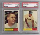 HAL WOODESHICK 1961 Topps baseball PSA 8 (ST) NM-MT #397
