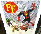 The Fantastic Four Marvel Now Exclusive Promo Poster NEW FF MARVEL COMICS 2013