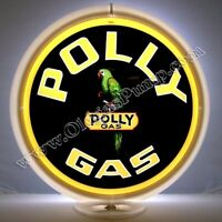 POLLY GASOLINE GAS & OIL PUMP GLOBE FREE S&H