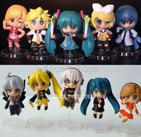 Vocaloid HATSUNE MIKU Japan Anime Figures Figure Toy Rin Len Luka Ruka 10pc