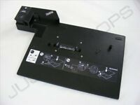 IBM Lenovo ThinkPad T500 W500 Advanced Docking Station Port Replicator NO KEYS
