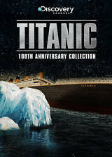 Titanic: The 100th Anniversary Collection (DVD 2012) JUST MISSING THE SHRINKWRAP