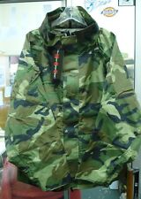 SALE M.O.C. WOODLAND CAMO WATERPROOF WINDPROOF PARKA GORE-TEX TYPE VAR SIZES NWT