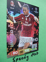 Adrenalyn 11 Robinho limited edition 11 12 Panini champions league CL 2011 2012