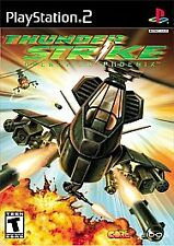 NEW SEALED Thunder Strike Operation Phoenix PS2 Video Game chopper rescue