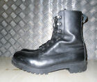 Genuine British Army Black Leather Vintage Combat / Assault Boots - All Sizes G2