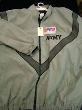 USGI ARMY REFLECTIVE GRAY PT JACKET COAT WINDBREAKER SMALL MED LRG XL 2X 3X NWT