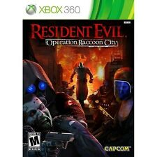 Resident Evil: Operation Raccoon City (XBOX 360, Video Game, Survival) Brand NEW