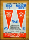1968 European Cup Final Manchester United v Benfica MAN UTD Programme Wembley
