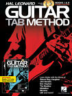 Hal Leonard Guitar Tab Method Vol.1 & Vol.2 Combo Edition Book 2 Cd Set NEW!