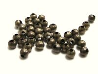 200 x 4mm Smooth Antique Bronze Spacer Beads Craft Findings Beading L143