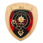 Scottish Gifts Kerr Family Clan Crest Wall Plaque