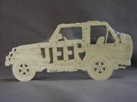 NEW Jeep Wrangler Wood Puzzle Car Toy Amish Made USA