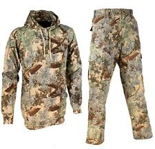 2 pc Kings Camo Pants & Hoodie Cotton Bundle Desert Shadow Mens Hunting Lot