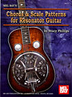 Chords & Scale Patterns for Resonator Dobro Guitar Chart Closed & Open Strings