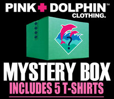 Pink Dolphin Assorted 5 Piece Shirt Set Clothing Authentic Random Legend Tees