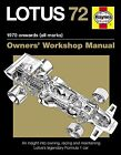 Lotus 72 Owners' Manual JPS Lotus Formula 1 F1 H5127 NEW