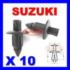 SUZUKI FAIRING PANEL TRIM CLIPS RIVETS FASTENERS 6mm X10