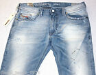 BNWT DIESEL THAVAR 8880M JEANS 34X32 SS12 100% AUTHENTIC SKINNY FIT TAPERED LEG