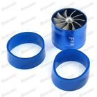 Universal Car Supercharger Turbine Turbo Charger Air Intake Fan Fuel Gas Saver