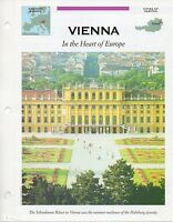 FFA - Vienna In the Heart of Europe - Western Europe - Fact file Card