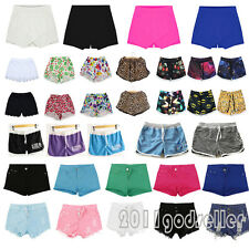 Hipster Women's High Waist Hot Pants Stretch Shorts Jeans Casual Short Trousers