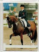 #98 Emile Faurie GBR Dressage equestrian collector card