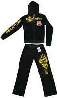 Womens Grambling State University Tigers Hooded  2 Piece Track-Warm up Suit