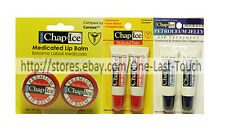 *CHAP ICE 2pc Set LIP BALM Soothes+Protects ORALABS Tub+Tubes NEW *YOU CHOOSE*