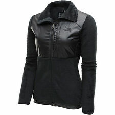 The North Face Womens Luxe Denali Jacket Fleece Coat Black S-XL NEW