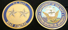 REAR ADMIRAL 0-8 OFFICER 2 STAR CHALLENGE COIN US NAVY PIN UP PROMOTION GIFT WOW