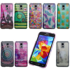 Hot Sale Patterned Bling Tower Rubber TPU Back Soft Protector Case Cover /Carey