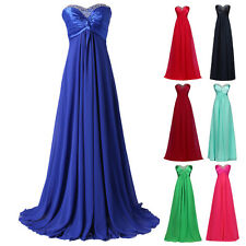 CHEAP Vintage 50s Long Chiffon Evening Gown Party Cocktail Prom Bridesmaid Dress