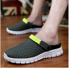 HOt Mens Boys Slipper Mesh Slingback Sports Sandals Breathable Flats Beach Shoes