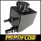AEROFLOW AF77-1020BLK Fabricated Aluminium Power Steering Reservoir - Black...