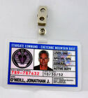 Stargate Command SG-1 ID Badge-Jack O'Neill cosplay prop costume
