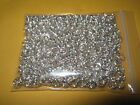 50g ( 6mm ) SPLIT RINGS Silver Plated ( 700pcs+) Findings Double Jump