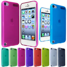 New Glossy Transparent TPU Gel Back Case Cover FOR Ipod Touch 5G