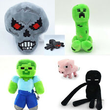One Minecraft Xbox Anime Plush Doll Game Character Figures Kids Birthday Gift