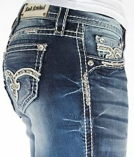 NEW Buckle ROCK REVIVAL Mid Rise Eloise Easy Boot Stretch Jean  29,30,31,32,34