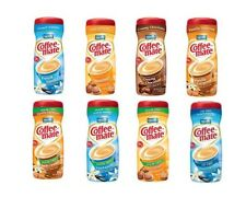Nestle Coffee Mate Flavors / Sugar Free Powder Creamer 3 Tubs