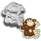 Wilton Monkey Cake Baking Pan Tin Kids Birthday Party Animal Aluminium