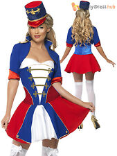 Ladies Fever Naughty Nutcracker Christmas Fancy Dress Costume Sexy Outfit Womens