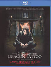 RAPACE,NOOMI-GIRL WITH THE DRAGON TATTOO Blu-Ray NEW
