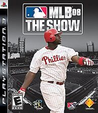 MLB 08: THE SHOW PS3 GAME NEW